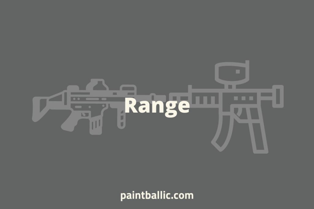 Airsoft VS Paintball Range