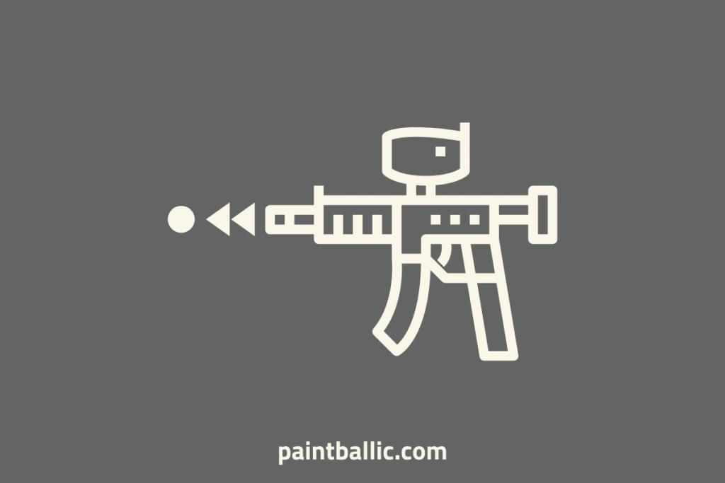 how fast do paintball guns shoot mph