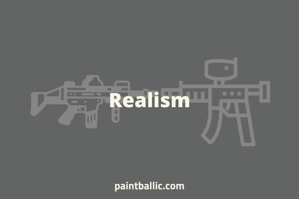 is paintball or airsoft more realistic