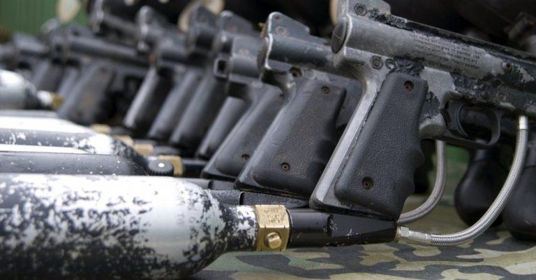 nitrogen tanks for paintball guns