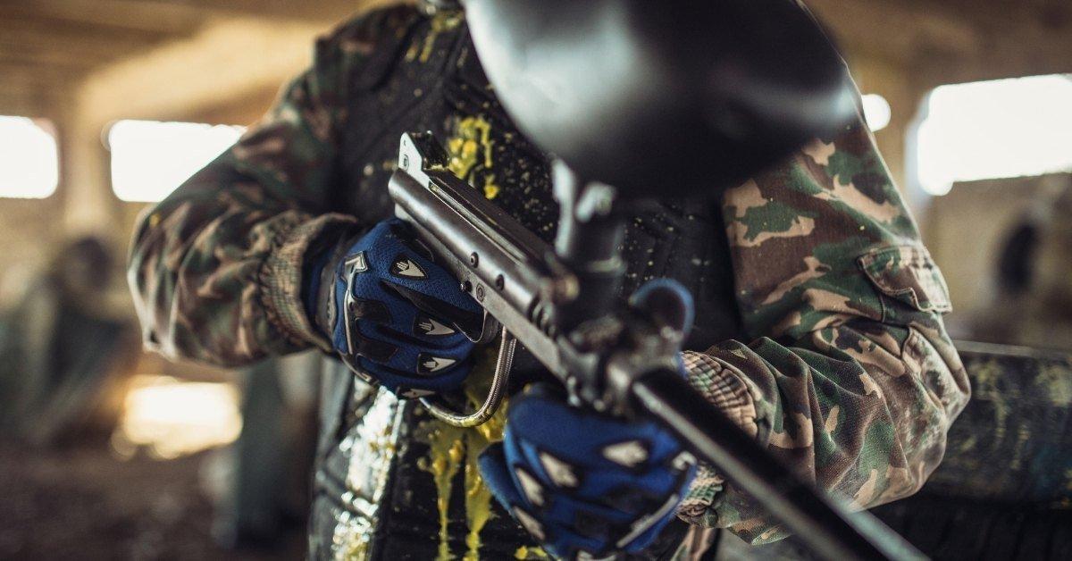 paintball gun not recocking