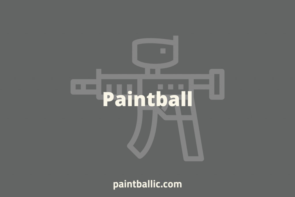 paintball pros and cons