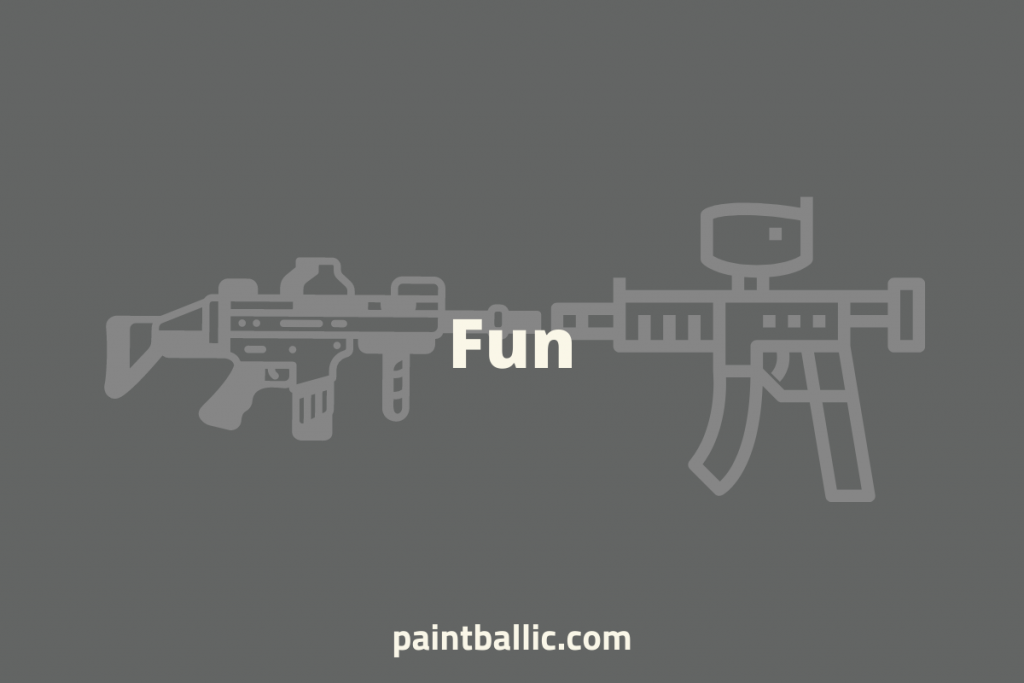 what's more fun airsoft or paintball