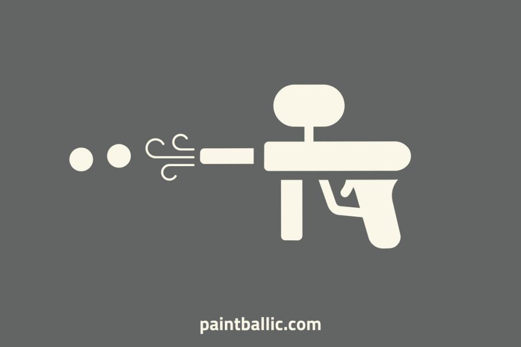 why is my paintball gun rapid firing