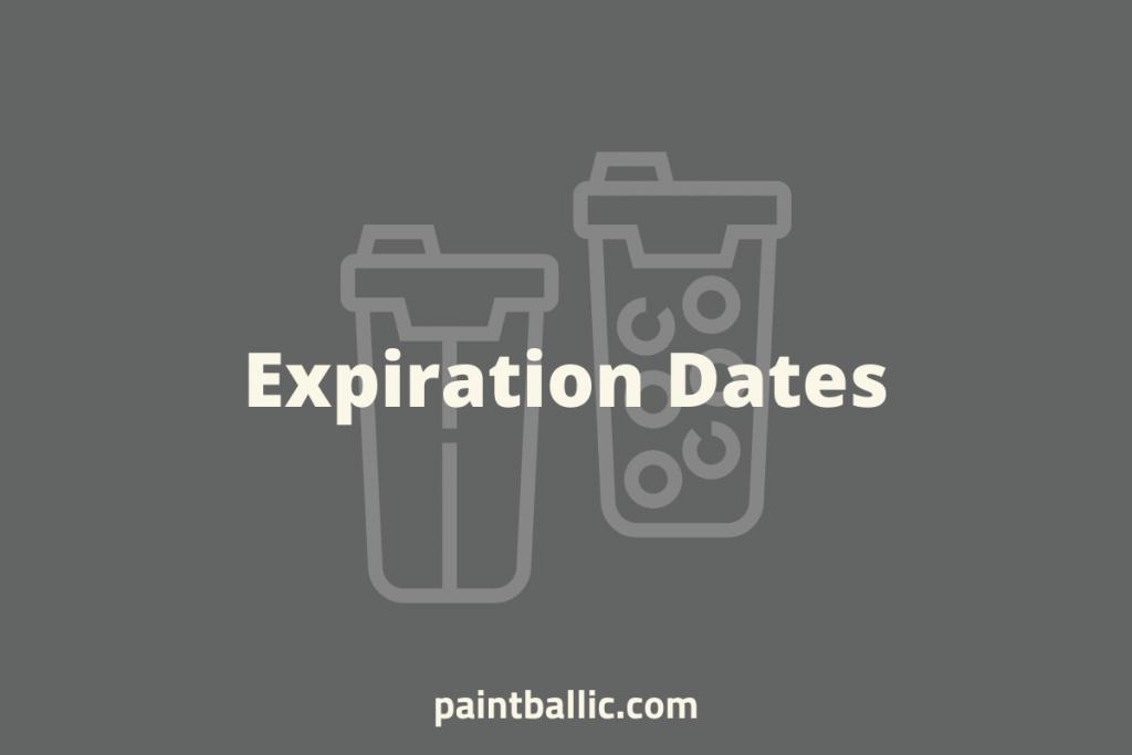 do paintballs expire
