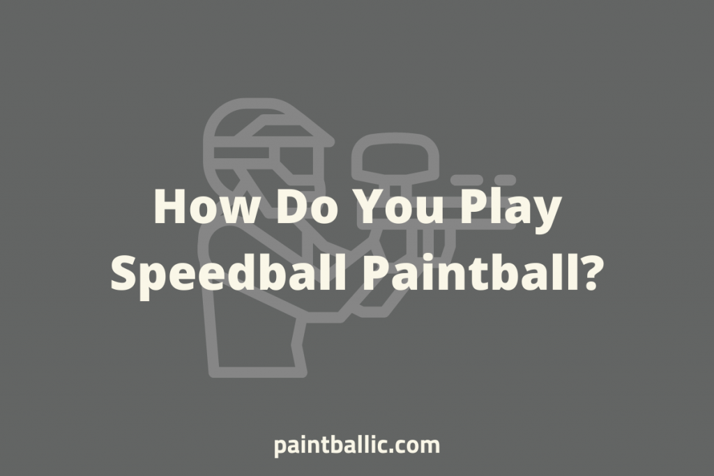 what is speedball paintball